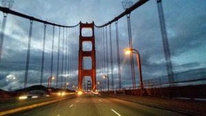 Driving through Golden Gate Bridge. Photo by Vera Sauchanka / LIVEfeed
