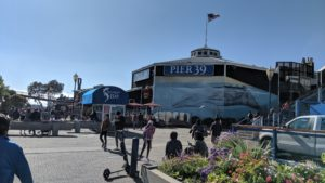 Pier 39 is an entertainment hub of local events and street art performances.  Photo by Vera Sauchanka / LIVEfeed